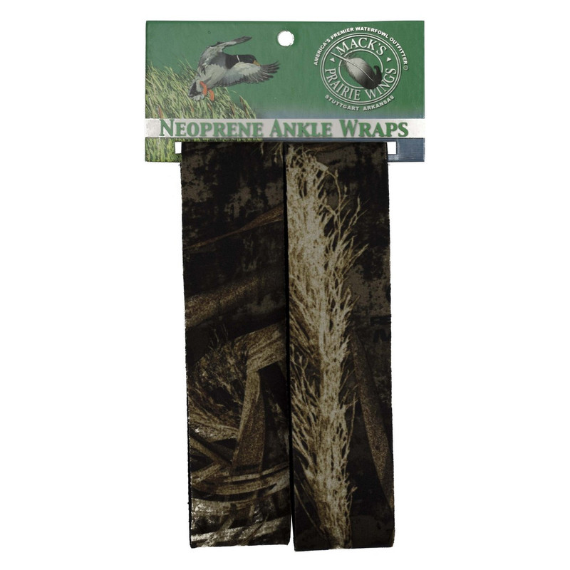 MPW Neoprene Ankle Garters - Pair in Realtree Max 5 Color