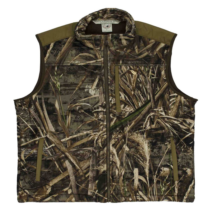 MPW WindTamer Fleece Vest Old Style in Realtree Max 5 Color