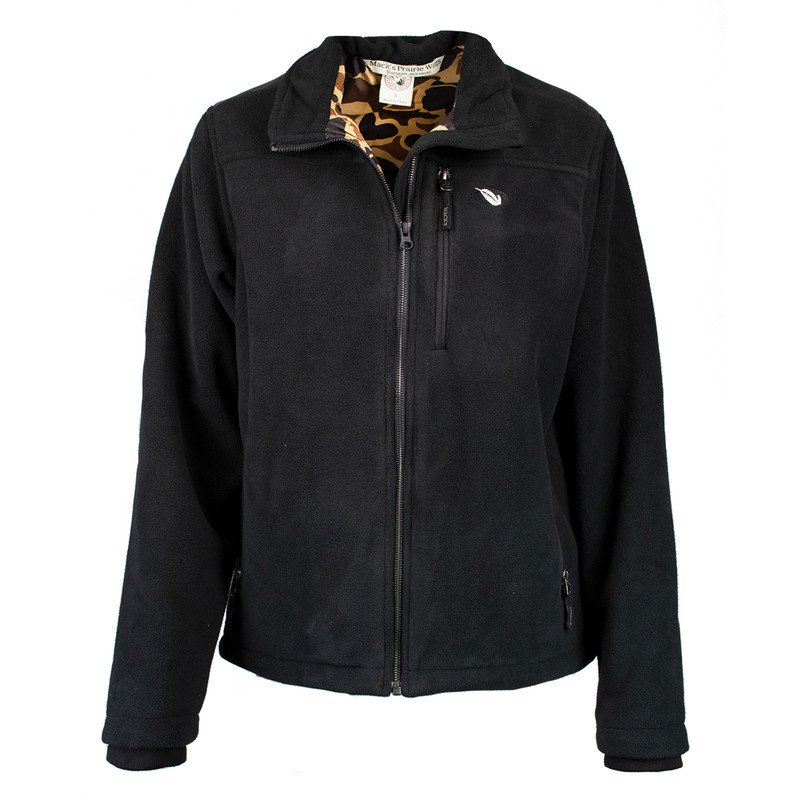 MPW WindTamer Full Zip Fleece Jacket in Black Color