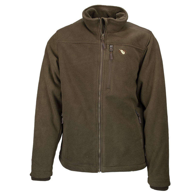 MPW WindTamer Full Zip Fleece Jacket in Brown Color