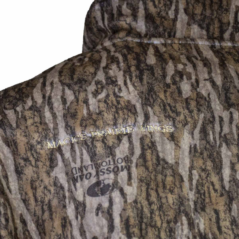 MPW WindTamer Full Zip Fleece Jacket in Mossy Oak Bottomland Color