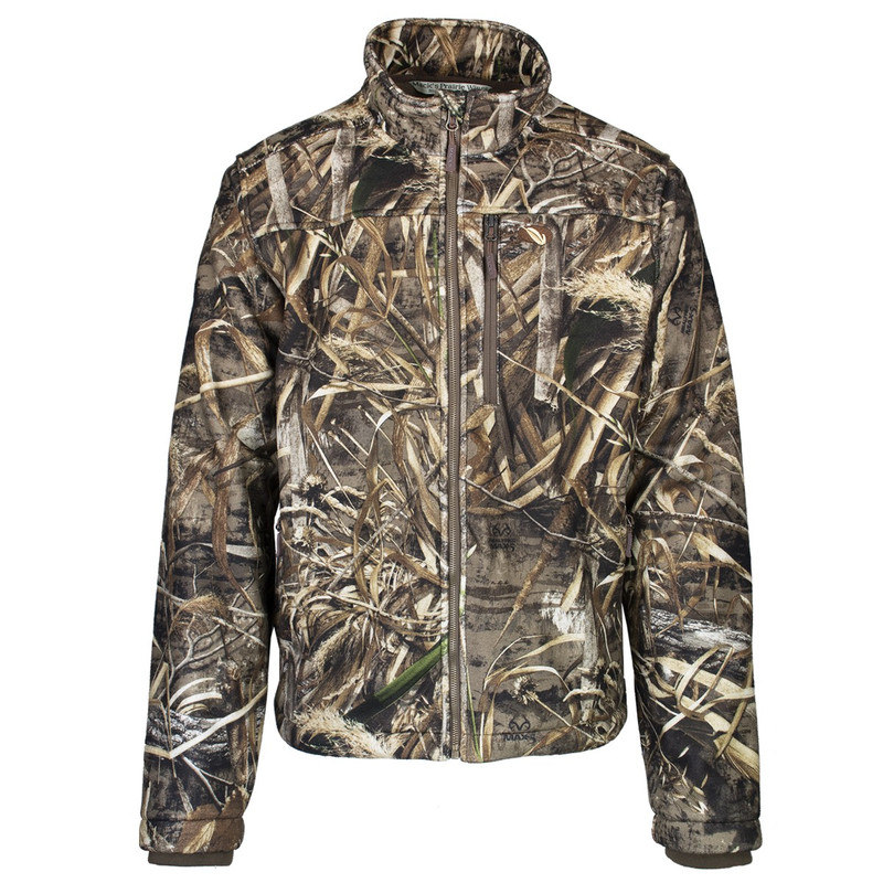 MPW WindTamer Full Zip Fleece Jacket in Realtree Max 5 Color