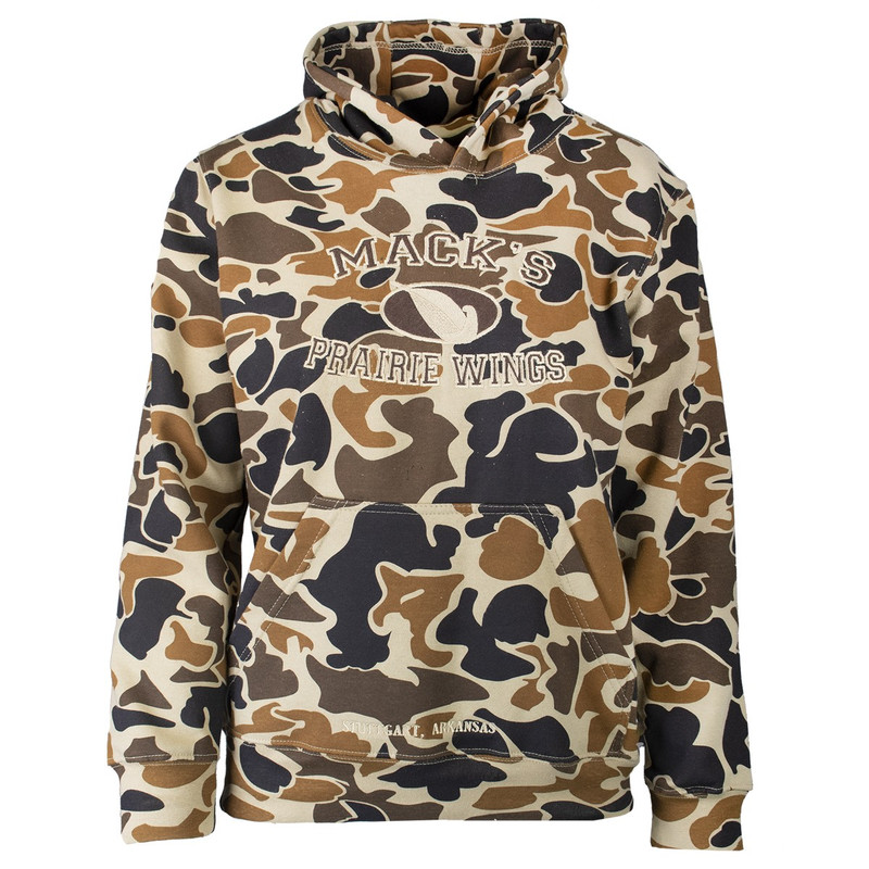 MPW Youth Magnum 12 Hoody in Old School Camo Color