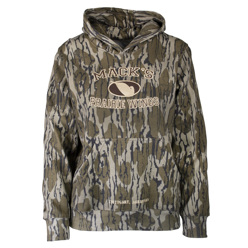 MPW Youth Magnum 12 Hoody in Original Mossy Oak Bottomland Color