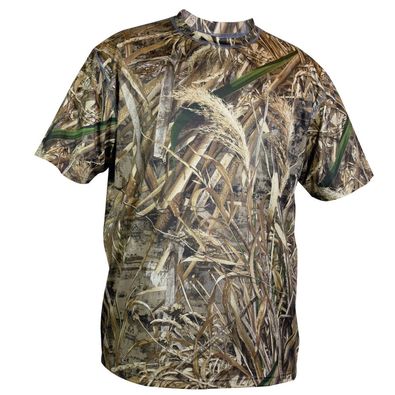Deluxe Explorer Short Sleeve T Shirt in Realtree Max 5 Color