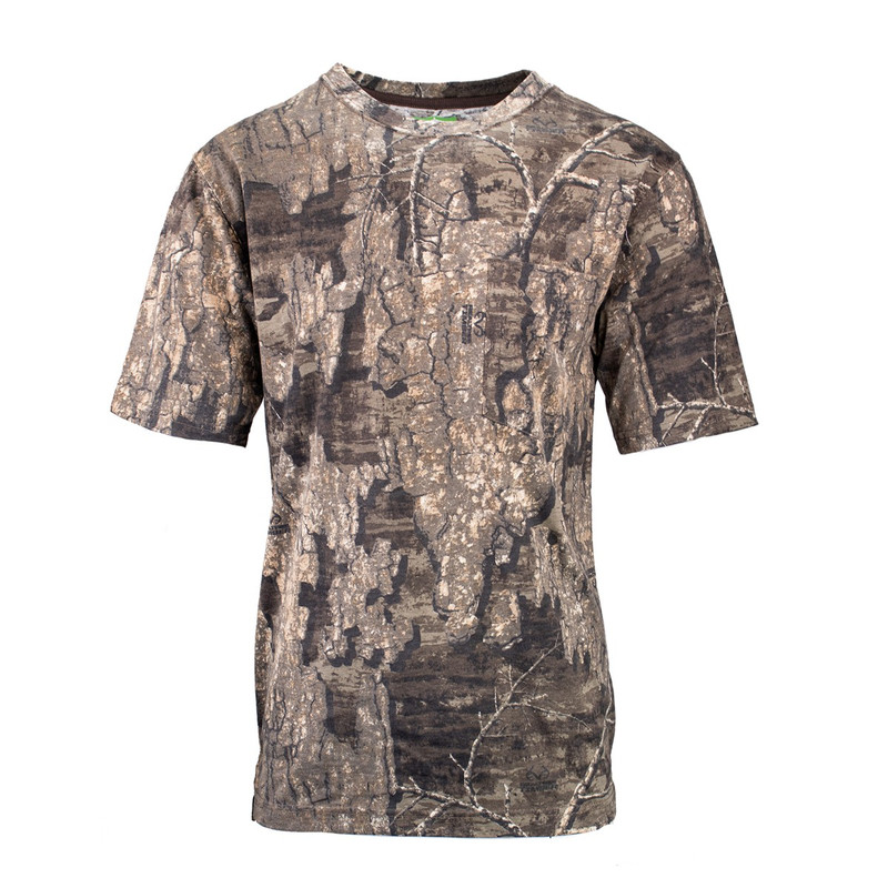 Deluxe Explorer Short Sleeve T Shirt in Realtree Timber Color