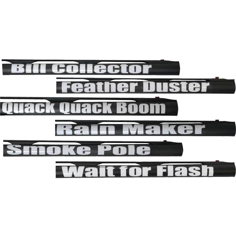 MPW Prairie Wing Gun Barrel Stickers Pair - Custom shotgun barrel stickers