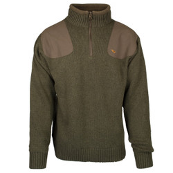 MPW Geridge Quarter Zip WindTamer Wool Sweater