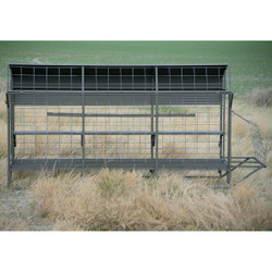 MPW Two Prairie Sled Blind with Roof - 12' In Store Only
