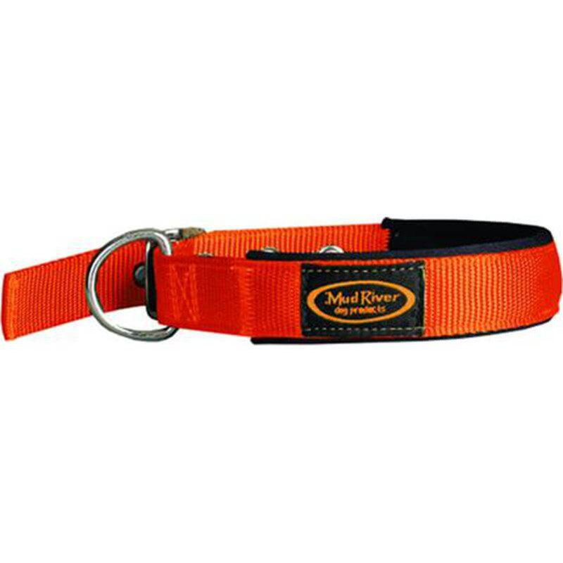 Mud River Swagger Collar in Blaze Orange Color