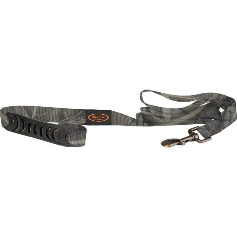 Mud River The Hatch Brass Clip Dog Leash in Realtree Max4 Color