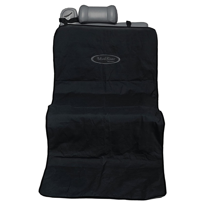 Mud River The Shotgun Mat Seat Cover in Black Gray Color