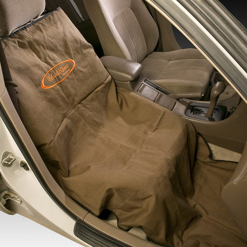 Mud River The Shotgun Mat Seat Cover in Brown Color