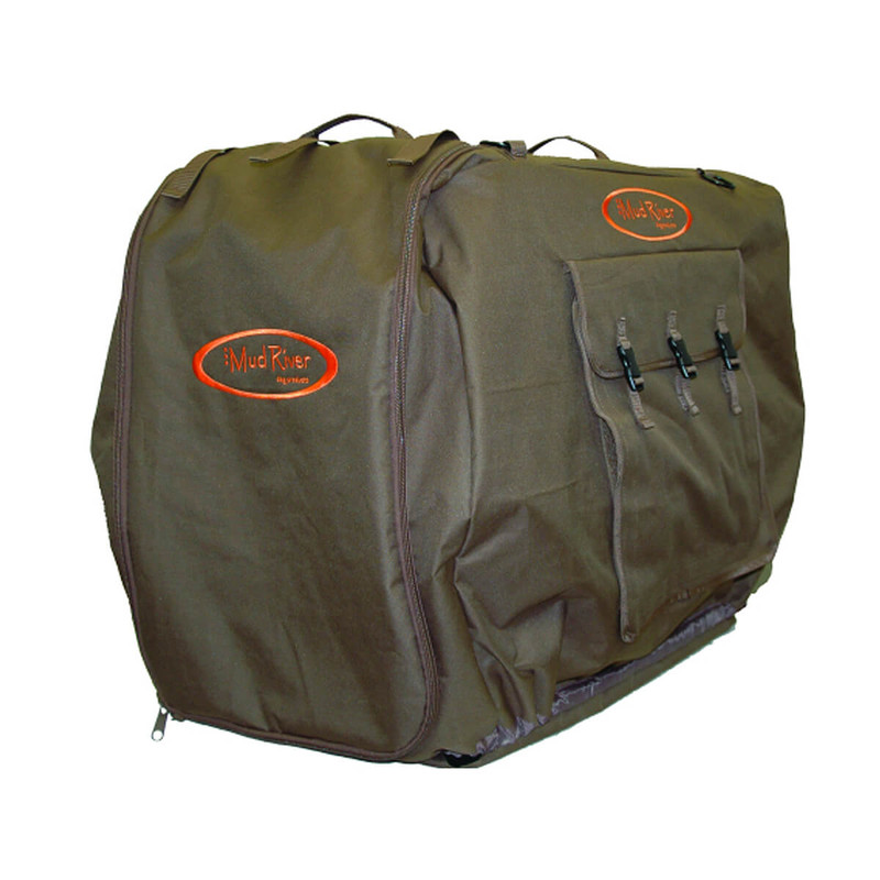 Mud River Bedford Uninsulated Dog Kennel Cover in Brown Color
