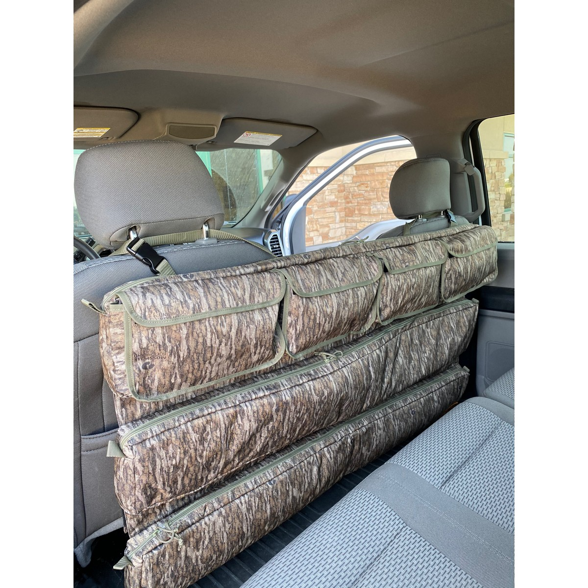 Rifle Shotgun Holder Gun Sling Case Car Rack Back Seat Pickup Truck Organizer X2