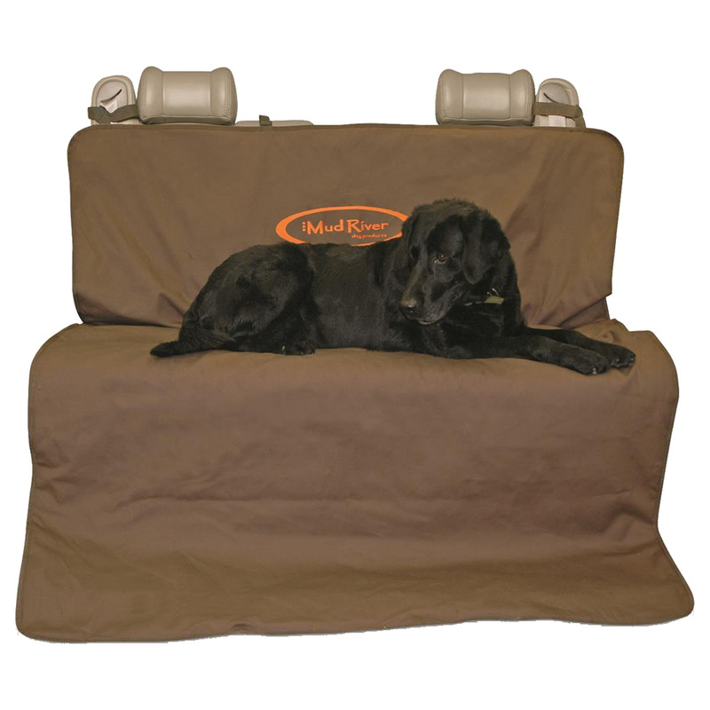 Mud River 2 Barrel Double Seat Cover in Brown Color