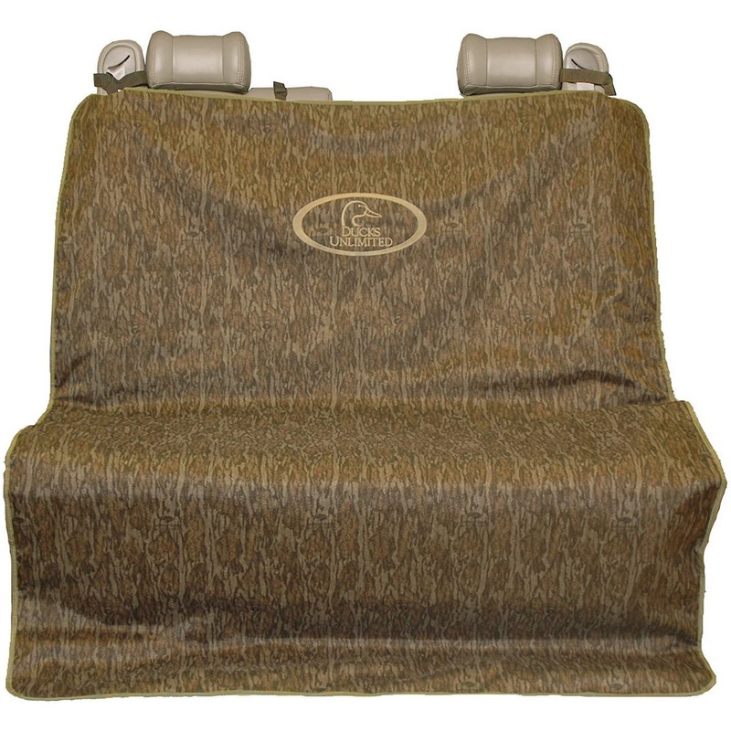Mud River 2 Barrel Double Seat Cover in Mossy Oak Bottomland Color