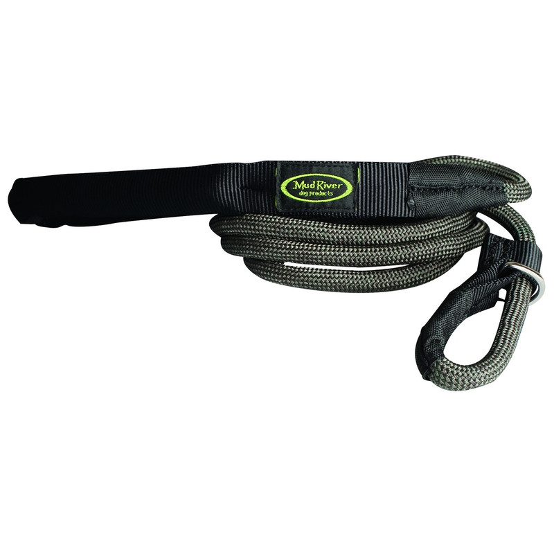 Mud River Hugo Hunting Dog Lead in Green Color