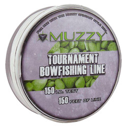 Muzzy Spool Size Tournament Bowfishing Line - 150 lbs