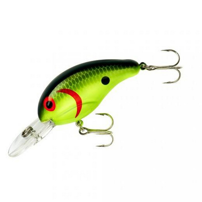 "Bandit 200 Series 2 "" Lure in Chartreuse Black"
