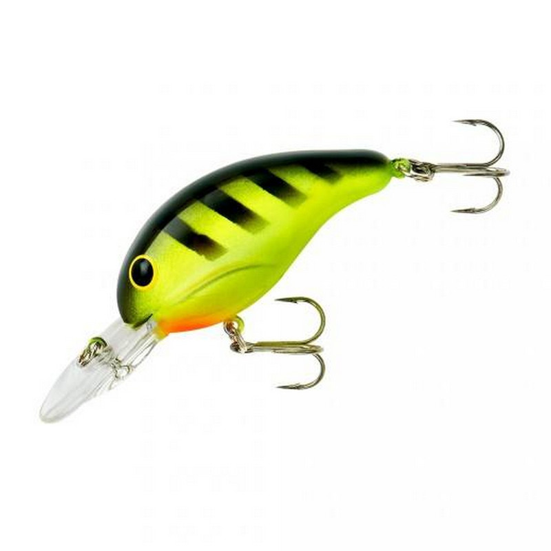 "Bandit 200 Series 2 "" Lure in Chatreuse Black Stripes Color"