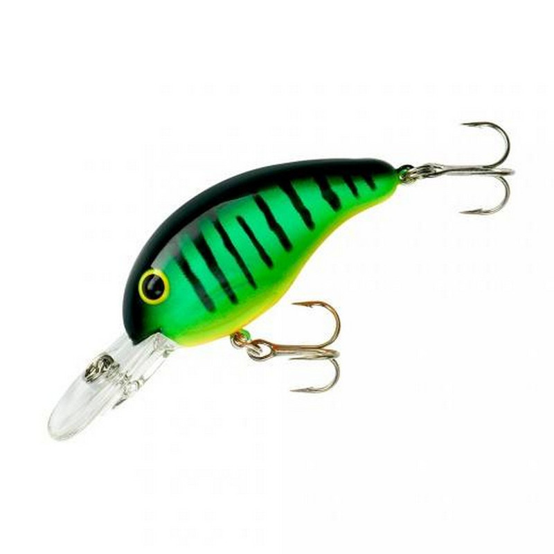 "Bandit 200 Series 2 "" Lure in Fire Tiger Color"