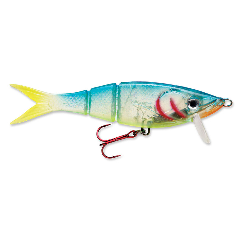 Storm Kickin' Minnow Fishing Lure - 4 Inches in Crystal Parrot Color