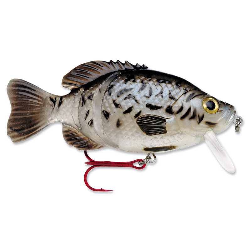 Storm Kickin' Slab Fishing Lure in BLK CRAPPIE Item Style