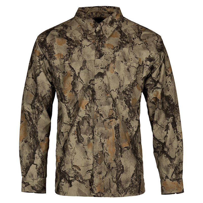 Natural Gear Bush Hunting Shirt in Natural Color