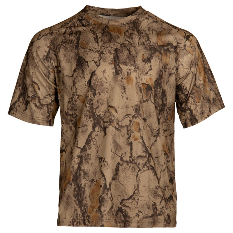 Natural Gear Short Sleeve Tech Tee in Natural Gear Color