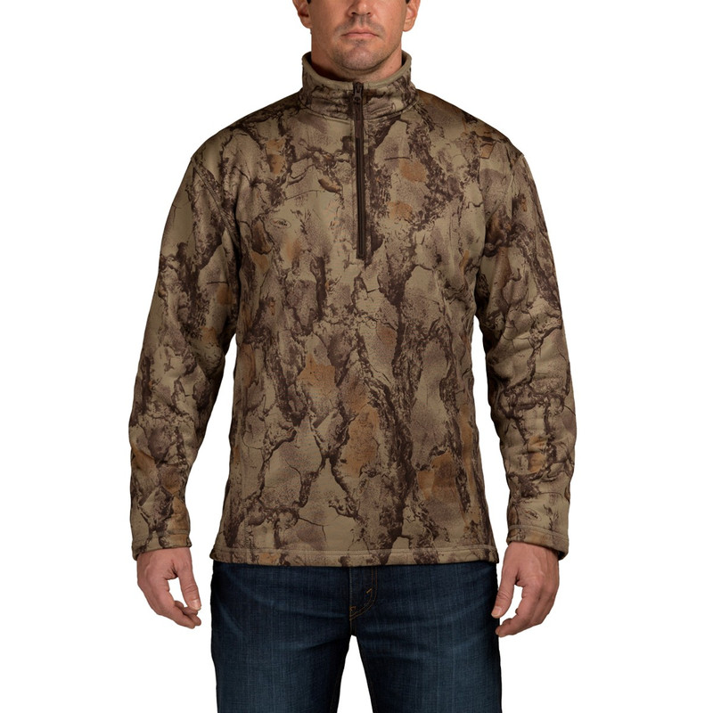Natural Gear Soft Shell Fleece Pullover