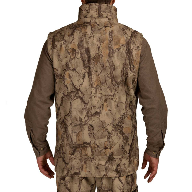Natural Gear Winter-Ceptor Wind Proof Fleece Full Zip Vest