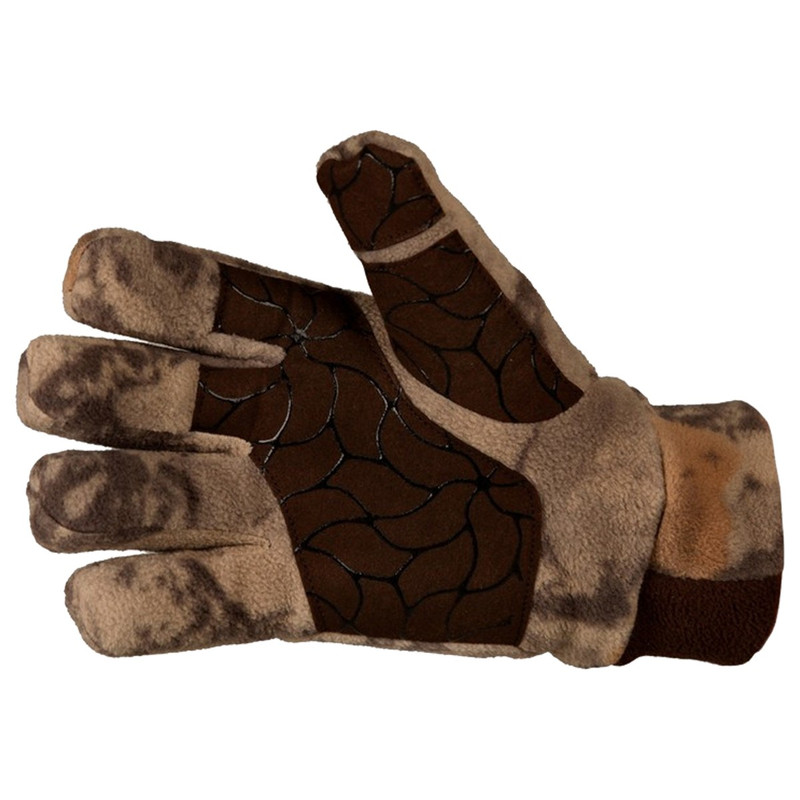 Natural Gear Fleece Windproof Gloves in Natural Color