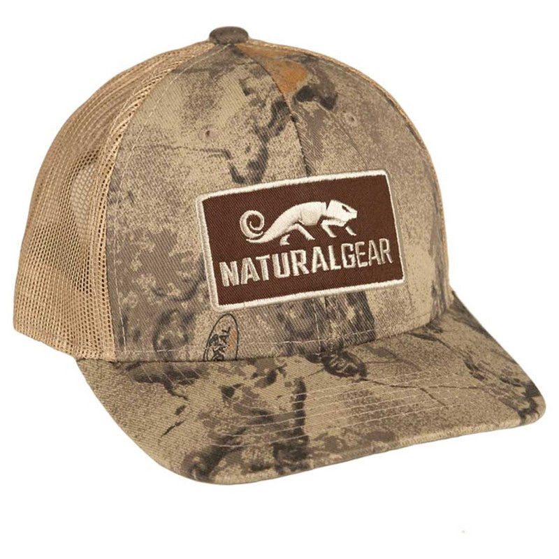 Natural Gear Natural Mid-Pro Trucker Patch Cap