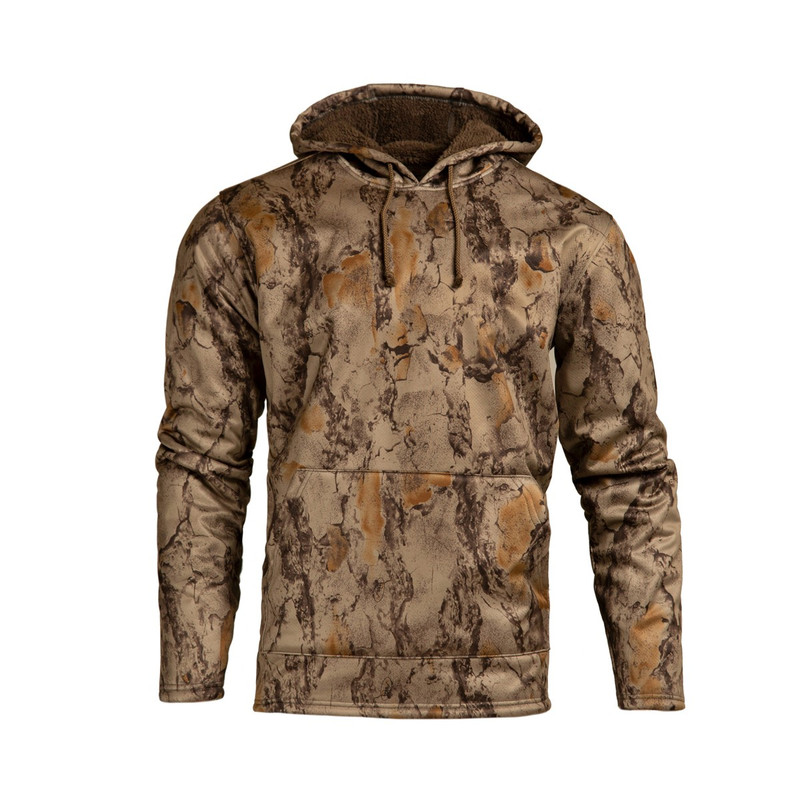 Natural Gear Coral Fleece Lined Hoody