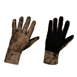 Natural Gear Mesh Back Stretch Fit Camo Gloves