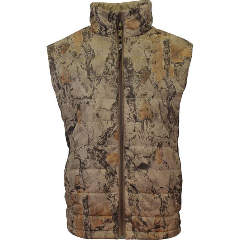 Natural Gear Synthetic Down Vest in Natural Color