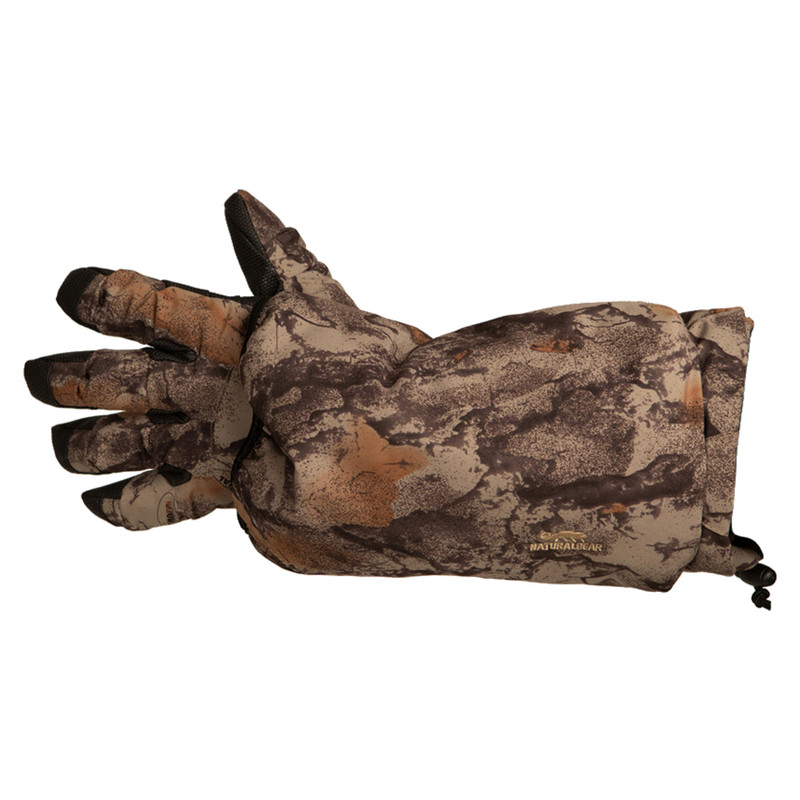 Natural Gear Cutdown Caller's Glove in Left Item Style