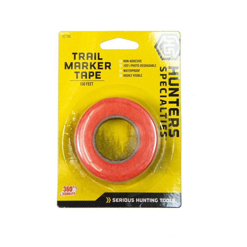 Hunters Specialties Photo-Degradable Trail Marker Tape #00790