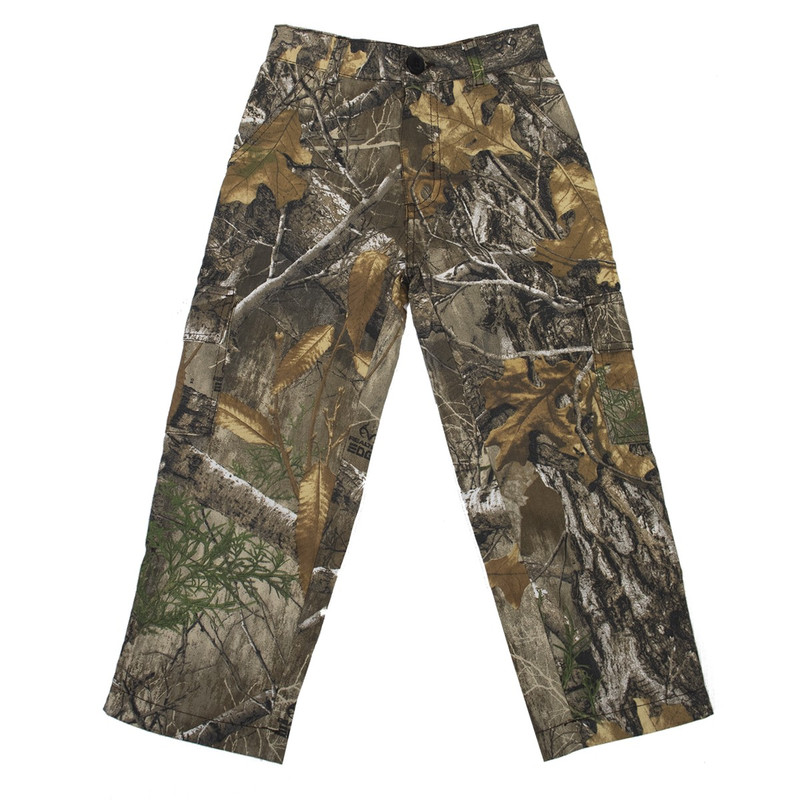 MPW Youth 6-Pocket Camouflage Pants in Realtree Edge Color
