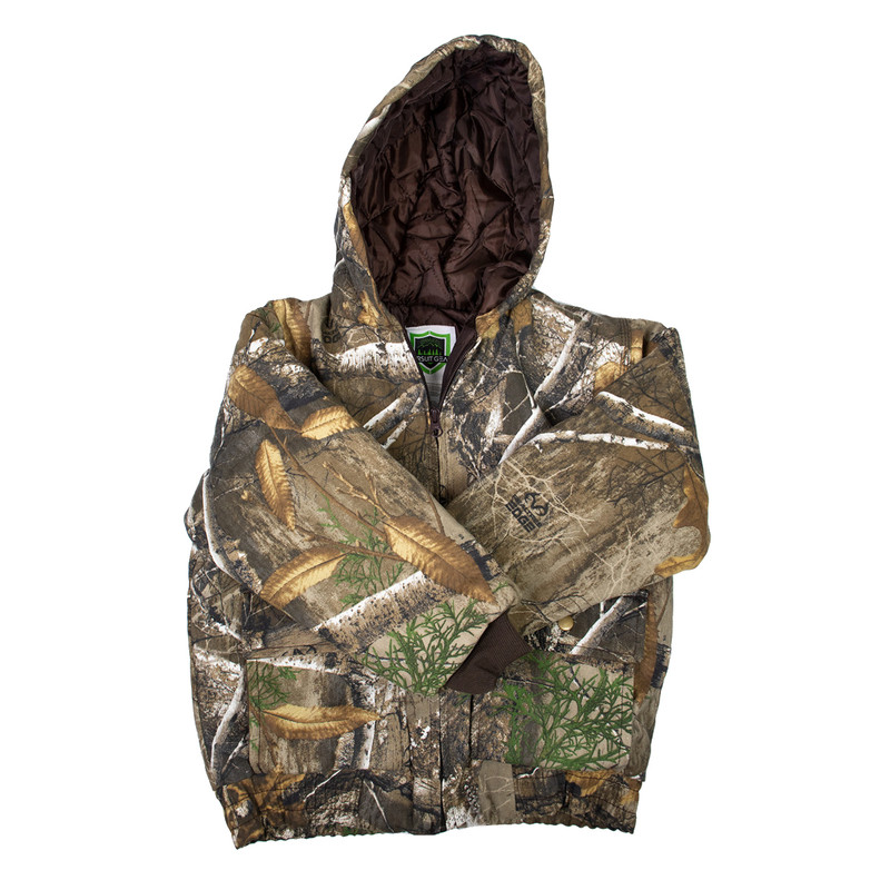 MPW Youth Insulated Jacket in Realtree Edge Color