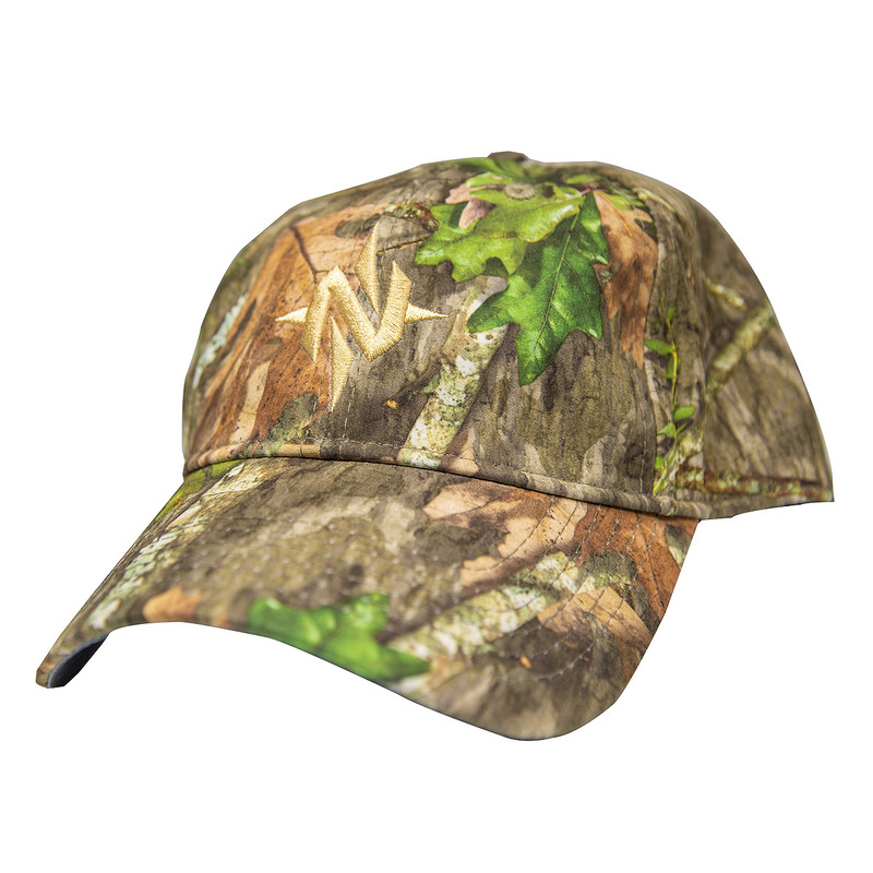 Nomad N Mark Low Country Trucker Cap in Mossy Oak Obsession Color