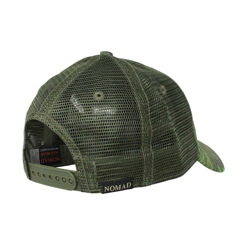 4459a7d3ce336 Nomad NWTF Camo Trucker Hat