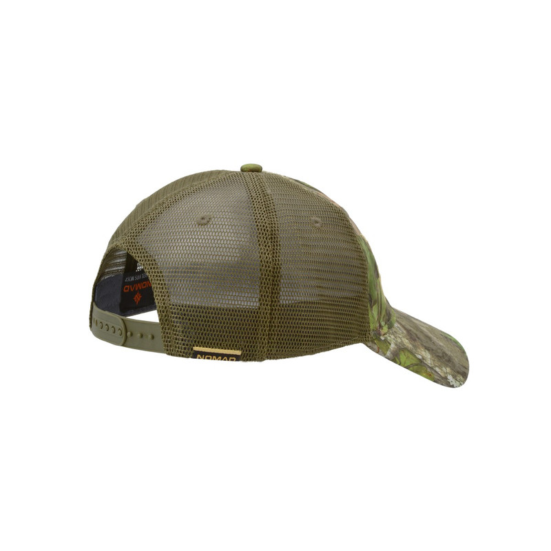 Nomad NWTF Low Country Trucker Cap in Mossy Oak Obsession Color