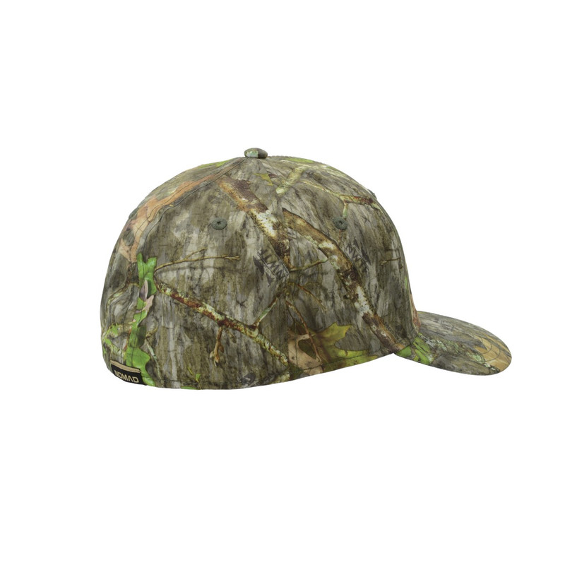 Nomad Camo Stretch Trucker Cap in Mossy Oak Obsession Color