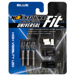 Nockturnal FIT Universal Size Blue Lighted Nock