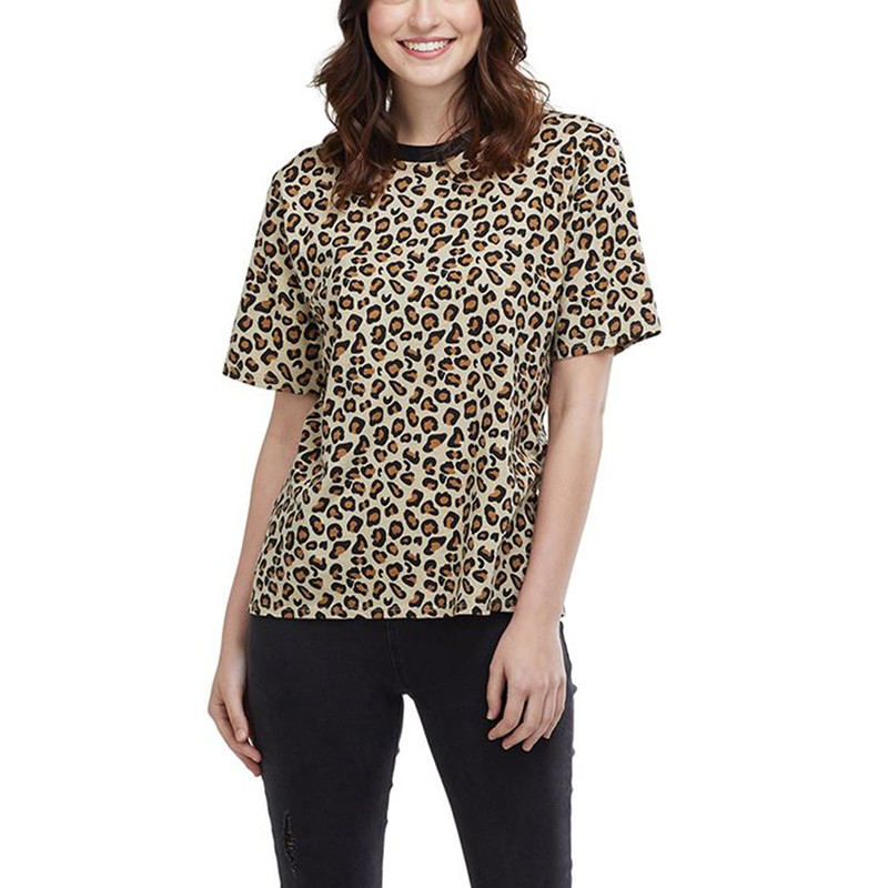Mud Pie Ollie Shirt Leopard in Leopard Color