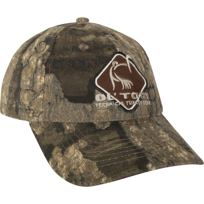 Ol'Tom Cotton Camo Cap in Realtree Timber Color