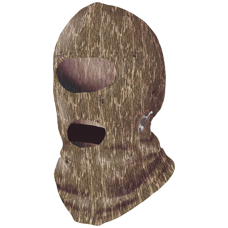 Ol' Tom Performance Full Face Mask in Mossy Oak Bottomland Color