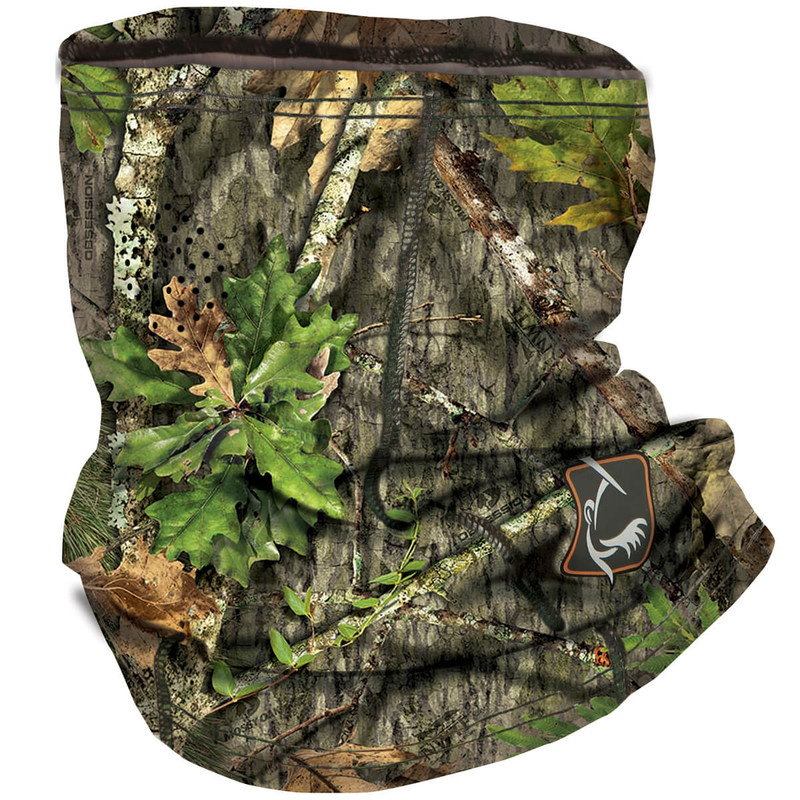 Ol' Tom Performance Buff Face Mask in New Mossy Oak Obsession Color